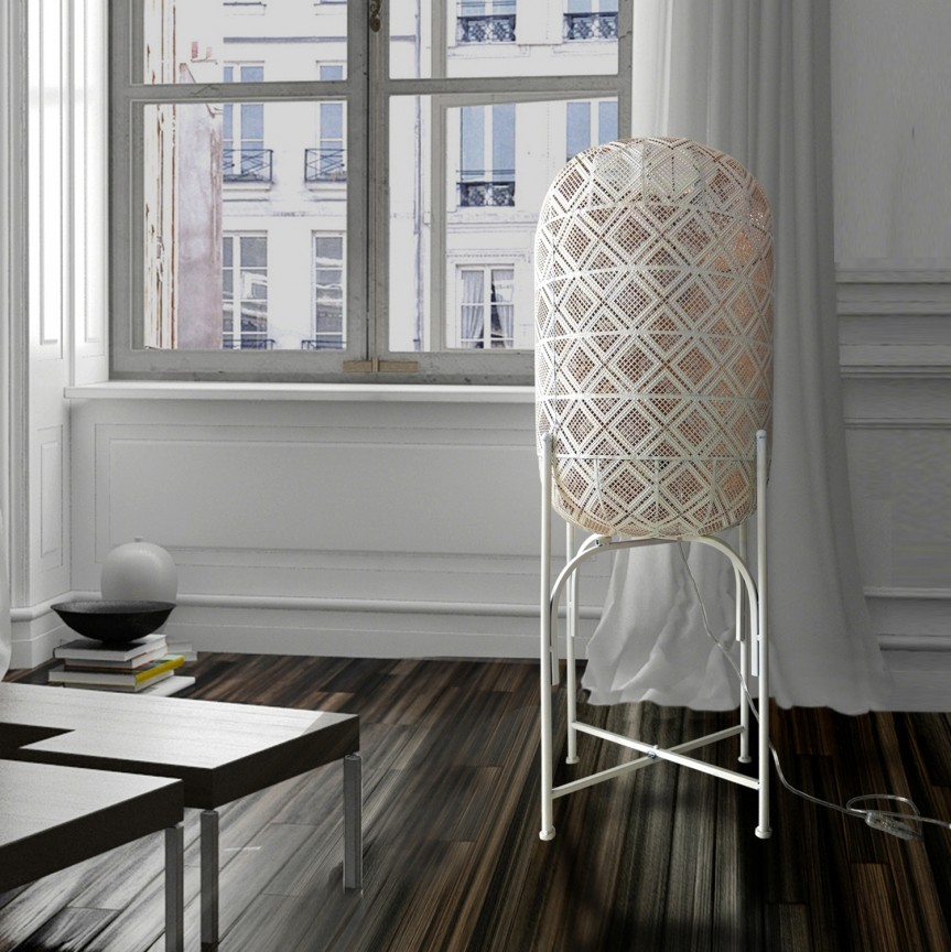 Lampadar / Lampa de podea design vintage Jana H-98cm SV-475416, Lampadare, Corpuri de iluminat, lustre, aplice, veioze, lampadare, plafoniere. Mobilier si decoratiuni, oglinzi, scaune, fotolii. Oferte speciale iluminat interior si exterior. Livram in toata tara.  a