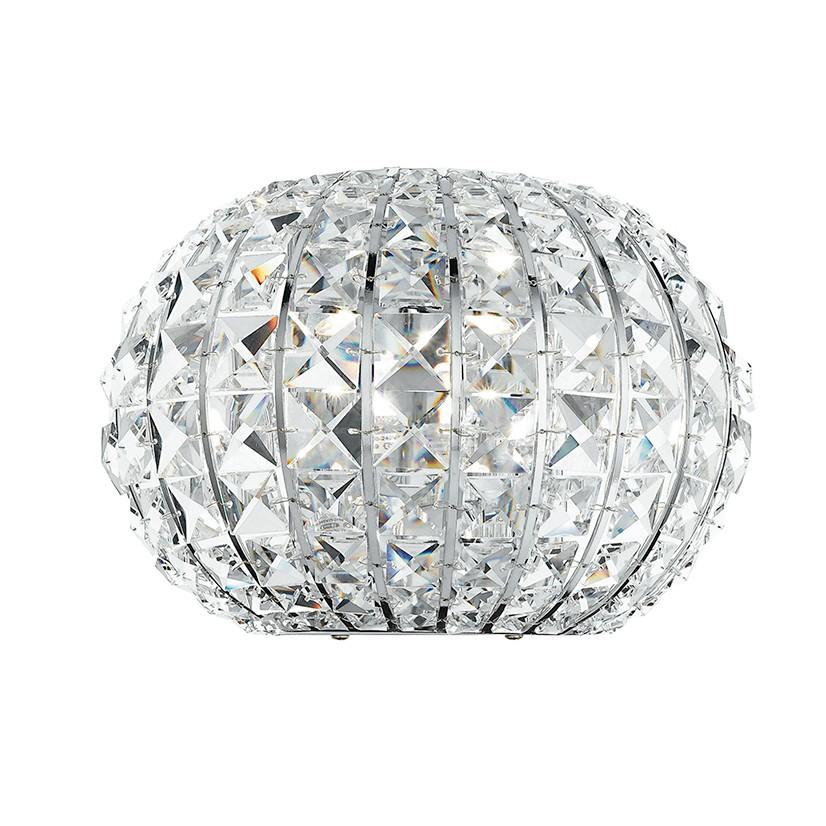 Aplica moderna cu cristal K9 Concert I-CONCERT/AP FE, Aplice de perete moderne, Corpuri de iluminat, lustre, aplice, veioze, lampadare, plafoniere. Mobilier si decoratiuni, oglinzi, scaune, fotolii. Oferte speciale iluminat interior si exterior. Livram in toata tara.  a