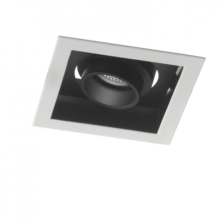 Spot LED incastrabil, directionabil APOLLO 10W 4000K, Spoturi incastrate, aplicate / spatii comerciale, Corpuri de iluminat, lustre, aplice, veioze, lampadare, plafoniere. Mobilier si decoratiuni, oglinzi, scaune, fotolii. Oferte speciale iluminat interior si exterior. Livram in toata tara.  a