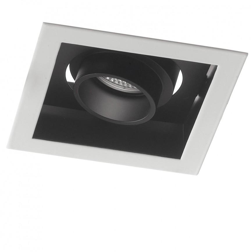 Spot LED incastrabil, directionabil APOLLO 20W 3000K, Spoturi incastrate, aplicate / spatii comerciale, Corpuri de iluminat, lustre, aplice, veioze, lampadare, plafoniere. Mobilier si decoratiuni, oglinzi, scaune, fotolii. Oferte speciale iluminat interior si exterior. Livram in toata tara.  a