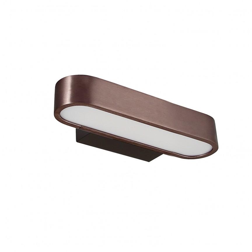 Aplica de perete LED design modern OFFICIUM 6W, Aplice pentru baie, oglinda, tablou, Corpuri de iluminat, lustre, aplice, veioze, lampadare, plafoniere. Mobilier si decoratiuni, oglinzi, scaune, fotolii. Oferte speciale iluminat interior si exterior. Livram in toata tara.  a