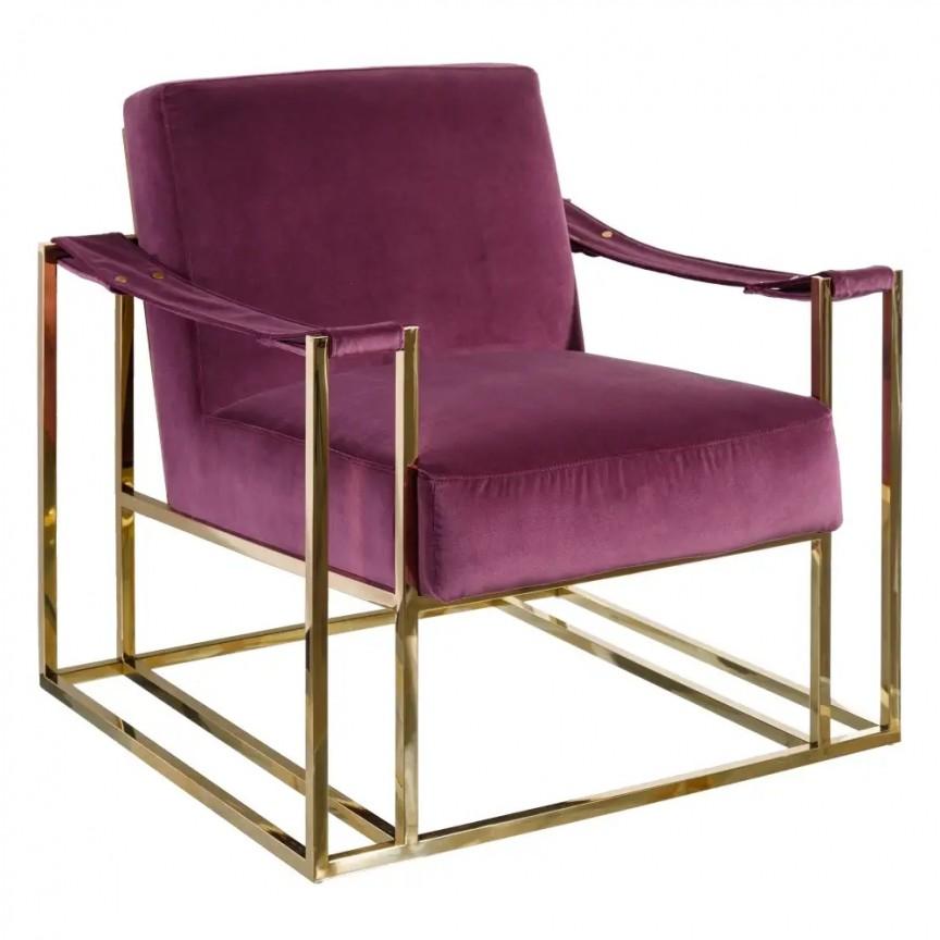 Fotoliu modern design deosebit Purpura DZ-107910, Fotolii - Fotolii extensibile, Corpuri de iluminat, lustre, aplice, veioze, lampadare, plafoniere. Mobilier si decoratiuni, oglinzi, scaune, fotolii. Oferte speciale iluminat interior si exterior. Livram in toata tara.  a