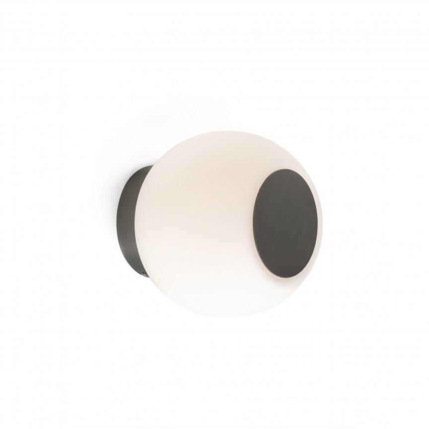 Aplica LED perete/tavan pentru baie IP44 MOY bronz, Aplice pentru baie, oglinda, tablou, Corpuri de iluminat, lustre, aplice, veioze, lampadare, plafoniere. Mobilier si decoratiuni, oglinzi, scaune, fotolii. Oferte speciale iluminat interior si exterior. Livram in toata tara.  a