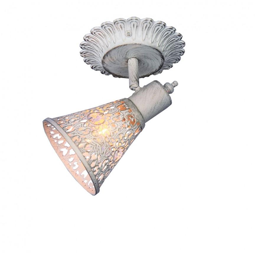 Aplica cu spot design oriental Arabian Drim 1796-1W FV, Spoturi - iluminat - cu 1 spot, Corpuri de iluminat, lustre, aplice, veioze, lampadare, plafoniere. Mobilier si decoratiuni, oglinzi, scaune, fotolii. Oferte speciale iluminat interior si exterior. Livram in toata tara.  a