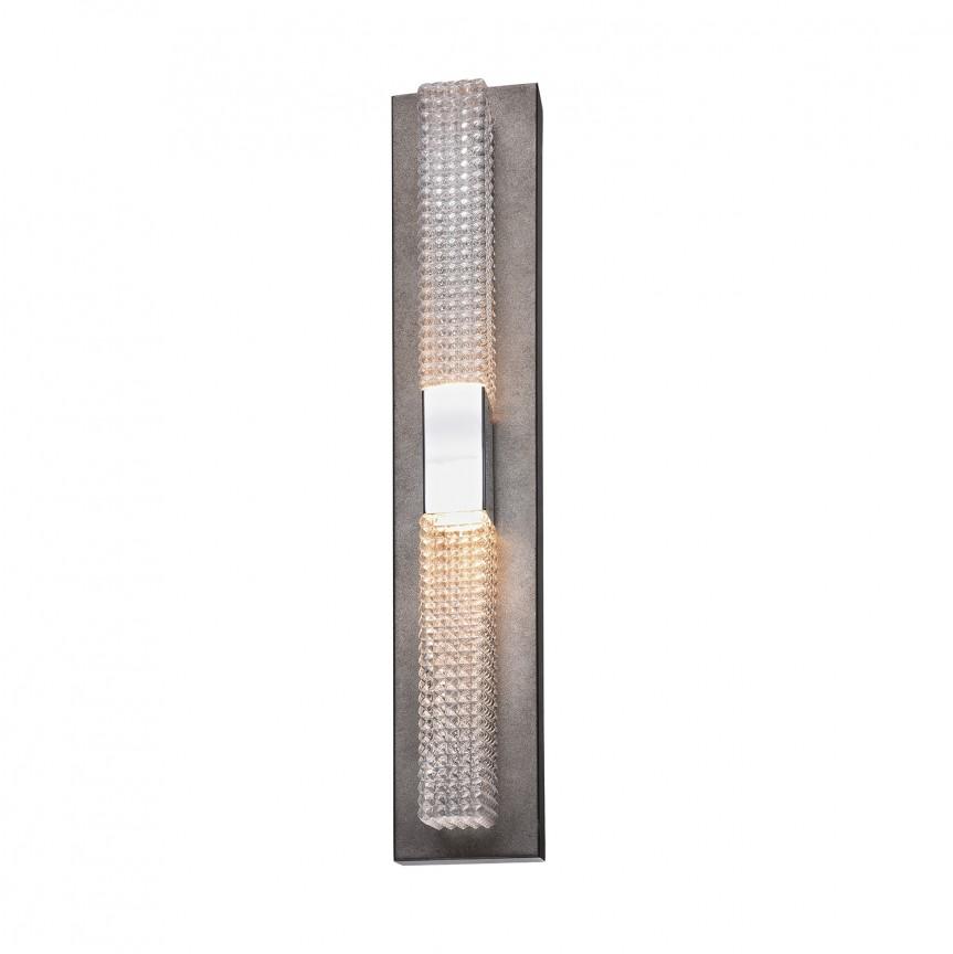 Aplica de perete LED design Art Deco GROOVE 2W, Aplice de perete LED, Corpuri de iluminat, lustre, aplice, veioze, lampadare, plafoniere. Mobilier si decoratiuni, oglinzi, scaune, fotolii. Oferte speciale iluminat interior si exterior. Livram in toata tara.  a