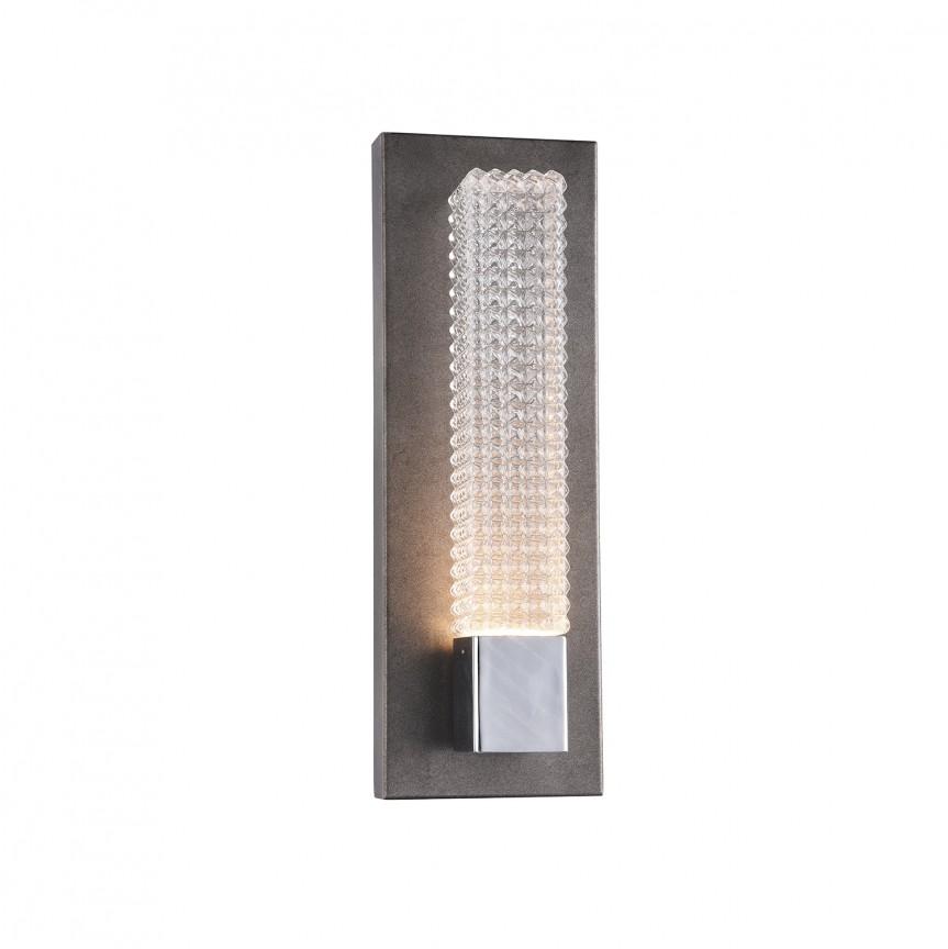 Aplica de perete LED design Art Deco GROOVE 1W, Aplice de perete LED, Corpuri de iluminat, lustre, aplice, veioze, lampadare, plafoniere. Mobilier si decoratiuni, oglinzi, scaune, fotolii. Oferte speciale iluminat interior si exterior. Livram in toata tara.  a