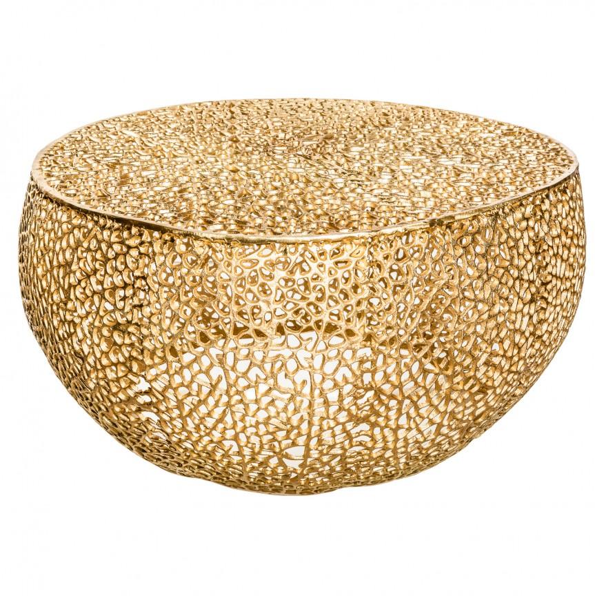 Masuta cu aspect deosebit Leaf 80cm, auriu A-38940 VC, Promotii si Reduceri⭐ Oferte ✅Corpuri de iluminat ✅Lustre ✅Mobila ✅Decoratiuni de interior si exterior.⭕Pret redus online➜Lichidari de stoc❗ Magazin ➽ www.evalight.ro. a
