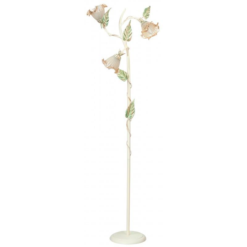 Lampadar elegant / Lampa de podea design clasic floral I-PRIMAVERA, Lampadare clasice, Corpuri de iluminat, lustre, aplice, veioze, lampadare, plafoniere. Mobilier si decoratiuni, oglinzi, scaune, fotolii. Oferte speciale iluminat interior si exterior. Livram in toata tara.  a