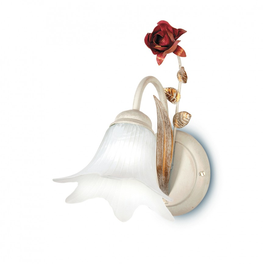 Aplica de perete eleganta design clasic floral ROSE,  a