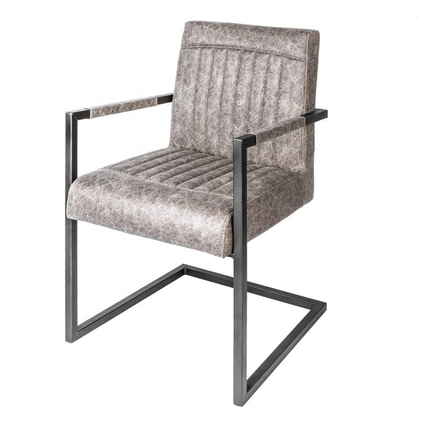 Set de 2 scaune Big George, gri vintage A-39128 VC, Seturi scaune dining, scaune HoReCa, Corpuri de iluminat, lustre, aplice, veioze, lampadare, plafoniere. Mobilier si decoratiuni, oglinzi, scaune, fotolii. Oferte speciale iluminat interior si exterior. Livram in toata tara.  a