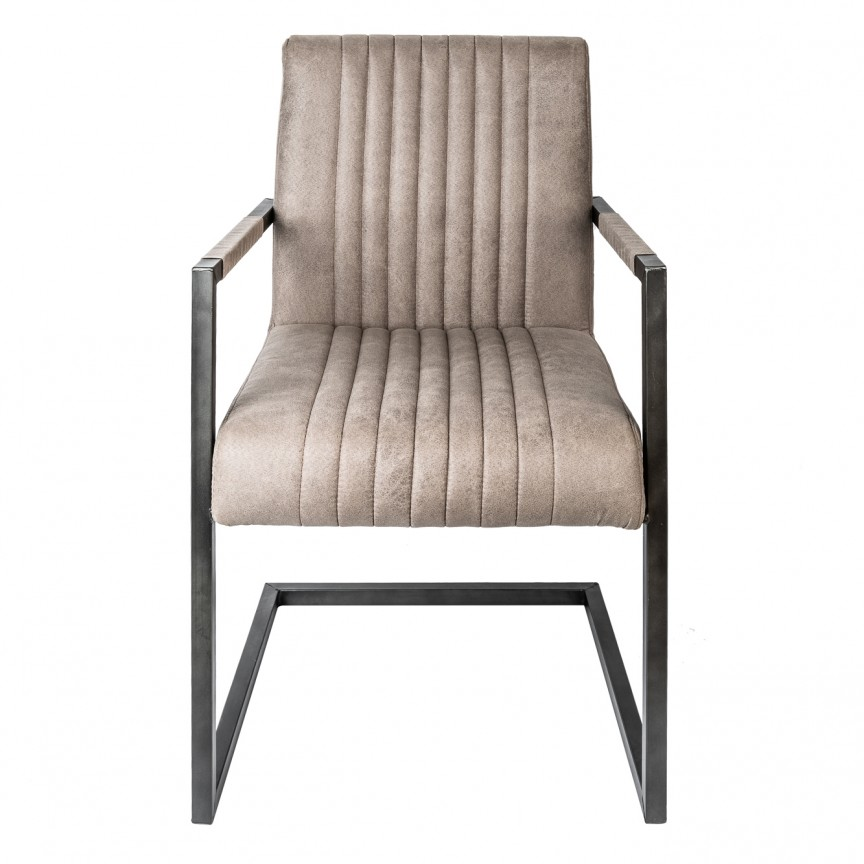 Set de 2 scaune cu tapiterie din microfibra Big Aston taupe A-39055 VC, Seturi scaune dining, scaune HoReCa, Corpuri de iluminat, lustre, aplice, veioze, lampadare, plafoniere. Mobilier si decoratiuni, oglinzi, scaune, fotolii. Oferte speciale iluminat interior si exterior. Livram in toata tara.  a
