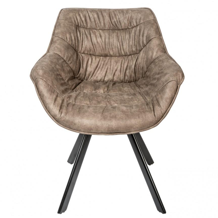 Set de 2 scaune design retro Dutch Comfort, microfibra taupe A-38618 VC, Seturi scaune dining, scaune HoReCa, Corpuri de iluminat, lustre, aplice, veioze, lampadare, plafoniere. Mobilier si decoratiuni, oglinzi, scaune, fotolii. Oferte speciale iluminat interior si exterior. Livram in toata tara.  a