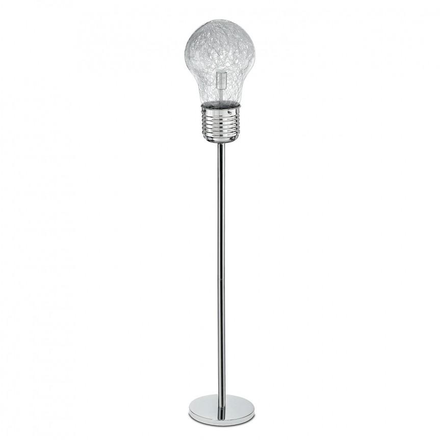 Lampadar / Lampa de podea design modern Lampadina, Lampadare, Corpuri de iluminat, lustre, aplice, veioze, lampadare, plafoniere. Mobilier si decoratiuni, oglinzi, scaune, fotolii. Oferte speciale iluminat interior si exterior. Livram in toata tara.  a