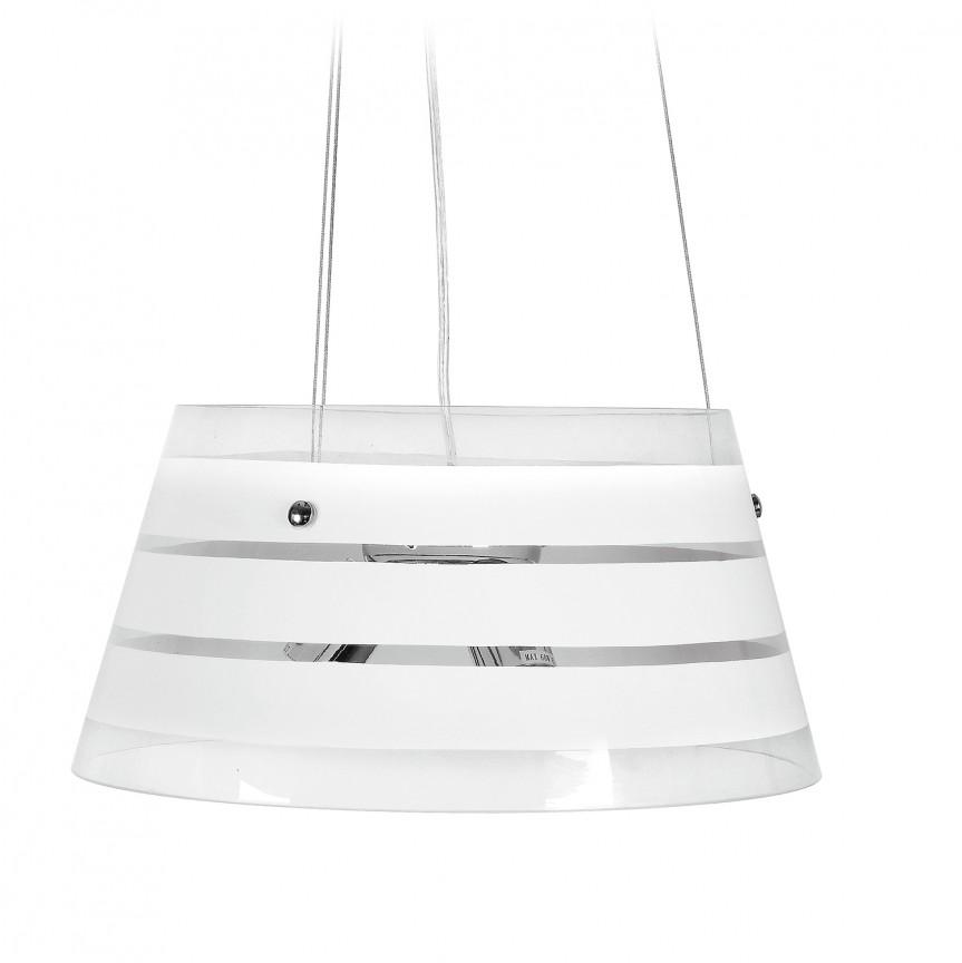 Lustra design modern Ø42cm Caraibi, Pendule, Lustre suspendate, Corpuri de iluminat, lustre, aplice, veioze, lampadare, plafoniere. Mobilier si decoratiuni, oglinzi, scaune, fotolii. Oferte speciale iluminat interior si exterior. Livram in toata tara.  a
