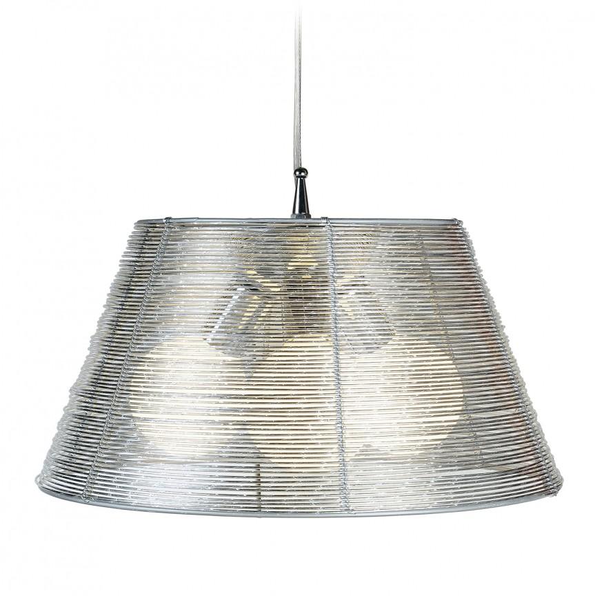 Lustra design modern Ø45cm SPRIZ, Pendule, Lustre suspendate, Corpuri de iluminat, lustre, aplice, veioze, lampadare, plafoniere. Mobilier si decoratiuni, oglinzi, scaune, fotolii. Oferte speciale iluminat interior si exterior. Livram in toata tara.  a