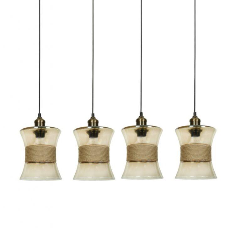 Lustra cu 4 pendule elegante Colin 77-4399 HL, Pendule, Lustre suspendate, Corpuri de iluminat, lustre, aplice, veioze, lampadare, plafoniere. Mobilier si decoratiuni, oglinzi, scaune, fotolii. Oferte speciale iluminat interior si exterior. Livram in toata tara.  a