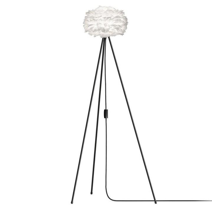 Lampadar cu pene de gasca si trepied EOS alb, 22cm 2091+(4015- alb/ 4016-negru) VTC, Outlet, Corpuri de iluminat, lustre, aplice, veioze, lampadare, plafoniere. Mobilier si decoratiuni, oglinzi, scaune, fotolii. Oferte speciale iluminat interior si exterior. Livram in toata tara.  a
