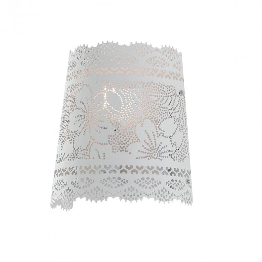 Aplica de perete clasica design decorativ CLUNY, Aplice de perete clasice, Corpuri de iluminat, lustre, aplice, veioze, lampadare, plafoniere. Mobilier si decoratiuni, oglinzi, scaune, fotolii. Oferte speciale iluminat interior si exterior. Livram in toata tara.  a