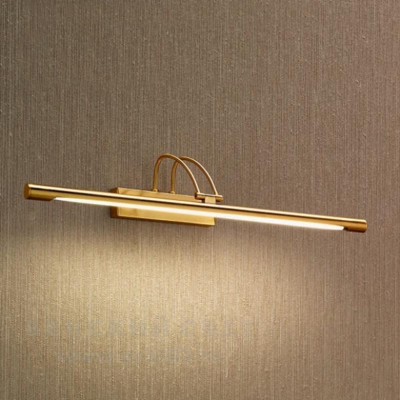 Aplica de perete pentru tablou 61,5cm Bardo WA 2-1179/1 gold-mat OR, Outlet, Corpuri de iluminat, lustre, aplice, veioze, lampadare, plafoniere. Mobilier si decoratiuni, oglinzi, scaune, fotolii. Oferte speciale iluminat interior si exterior. Livram in toata tara.  a