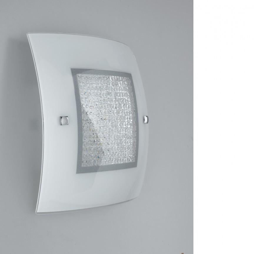 Aplica LED perete /tavan design elegant cu cristale K9 TRILOGY PL50, Aplice de perete LED, Corpuri de iluminat, lustre, aplice, veioze, lampadare, plafoniere. Mobilier si decoratiuni, oglinzi, scaune, fotolii. Oferte speciale iluminat interior si exterior. Livram in toata tara.  a