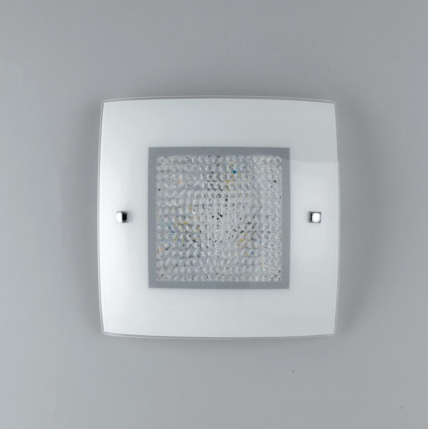 Aplica LED perete /tavan design elegant cu cristale K9 TRILOGY PL30, Aplice de perete LED, Corpuri de iluminat, lustre, aplice, veioze, lampadare, plafoniere. Mobilier si decoratiuni, oglinzi, scaune, fotolii. Oferte speciale iluminat interior si exterior. Livram in toata tara.  a