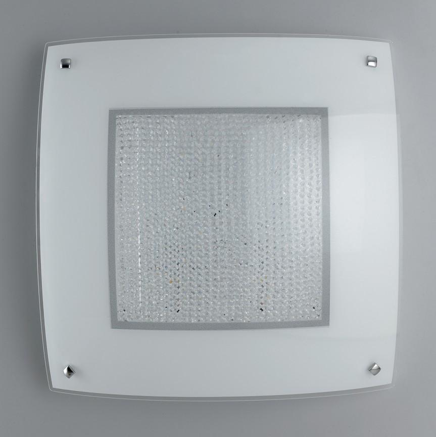 Aplica LED perete /tavan design elegant cu cristale K9 TRILOGY PL40, Aplice de perete LED, Corpuri de iluminat, lustre, aplice, veioze, lampadare, plafoniere. Mobilier si decoratiuni, oglinzi, scaune, fotolii. Oferte speciale iluminat interior si exterior. Livram in toata tara.  a