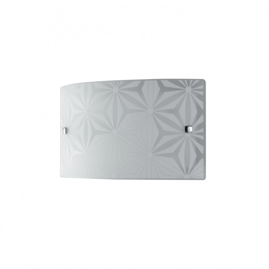 Aplica LED de perete design modern sticla decorata EXAGON, Aplice de perete LED, Corpuri de iluminat, lustre, aplice, veioze, lampadare, plafoniere. Mobilier si decoratiuni, oglinzi, scaune, fotolii. Oferte speciale iluminat interior si exterior. Livram in toata tara.  a
