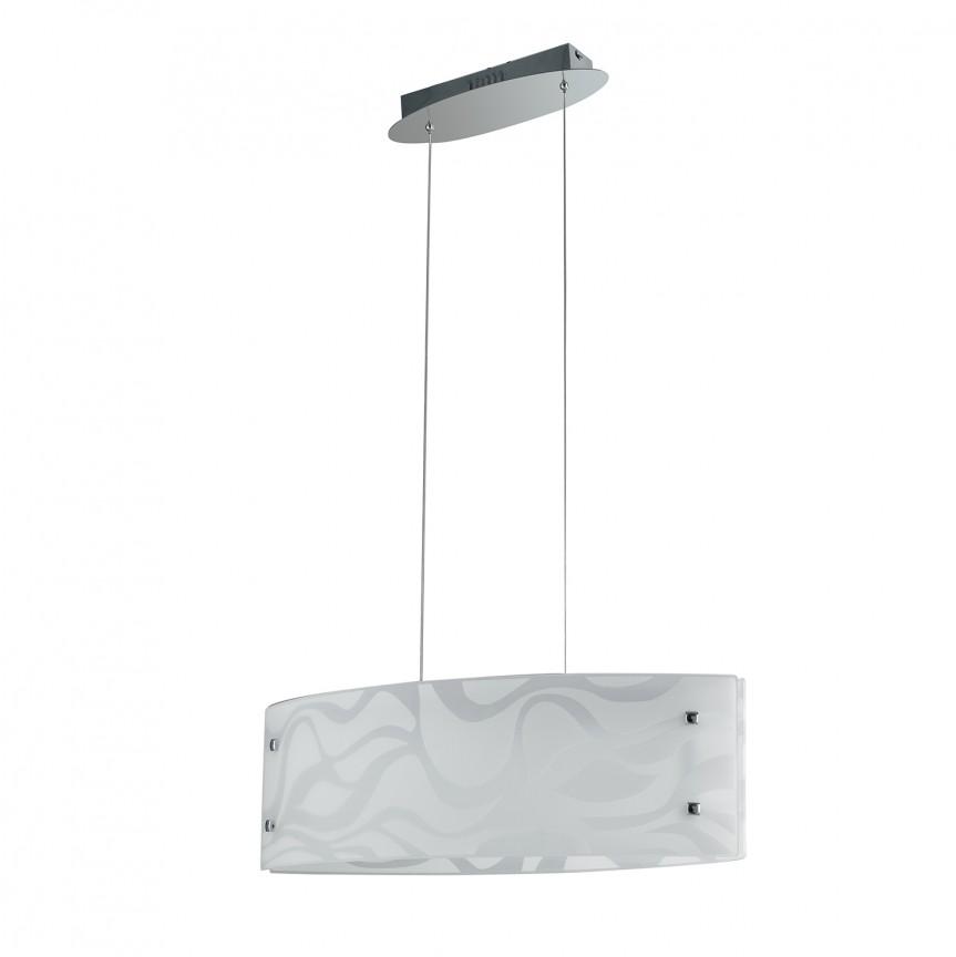 Lustra LED design modern sticla decorata JASMINE, Lustre LED, Pendule LED, Corpuri de iluminat, lustre, aplice, veioze, lampadare, plafoniere. Mobilier si decoratiuni, oglinzi, scaune, fotolii. Oferte speciale iluminat interior si exterior. Livram in toata tara.  a