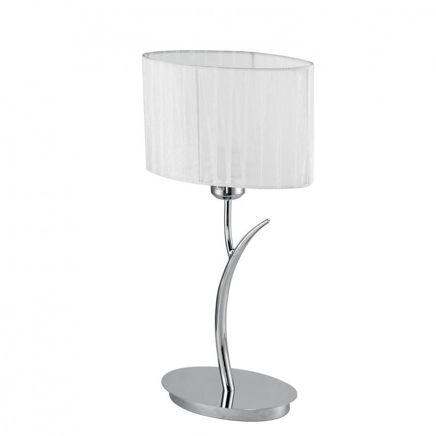 Veioza eleganta design modern DELUXE, Veioze, Lampi de masa, Corpuri de iluminat, lustre, aplice, veioze, lampadare, plafoniere. Mobilier si decoratiuni, oglinzi, scaune, fotolii. Oferte speciale iluminat interior si exterior. Livram in toata tara.  a