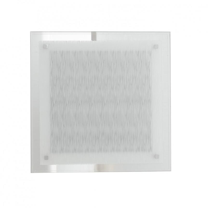 Aplica LED de perete / tavan sticla decorata 45cm Joyce, Aplice de perete LED, Corpuri de iluminat, lustre, aplice, veioze, lampadare, plafoniere. Mobilier si decoratiuni, oglinzi, scaune, fotolii. Oferte speciale iluminat interior si exterior. Livram in toata tara.  a