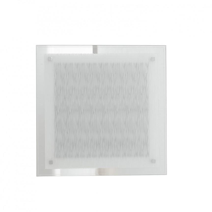 Aplica LED de perete / tavan sticla decorata 35cm Joyce, Aplice de perete LED, Corpuri de iluminat, lustre, aplice, veioze, lampadare, plafoniere. Mobilier si decoratiuni, oglinzi, scaune, fotolii. Oferte speciale iluminat interior si exterior. Livram in toata tara.  a