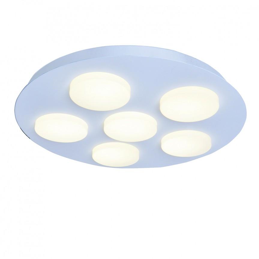 Lustra LED aplicata tavan Ø47cm MADISON, Plafoniere LED, Spoturi LED, Corpuri de iluminat, lustre, aplice, veioze, lampadare, plafoniere. Mobilier si decoratiuni, oglinzi, scaune, fotolii. Oferte speciale iluminat interior si exterior. Livram in toata tara.  a