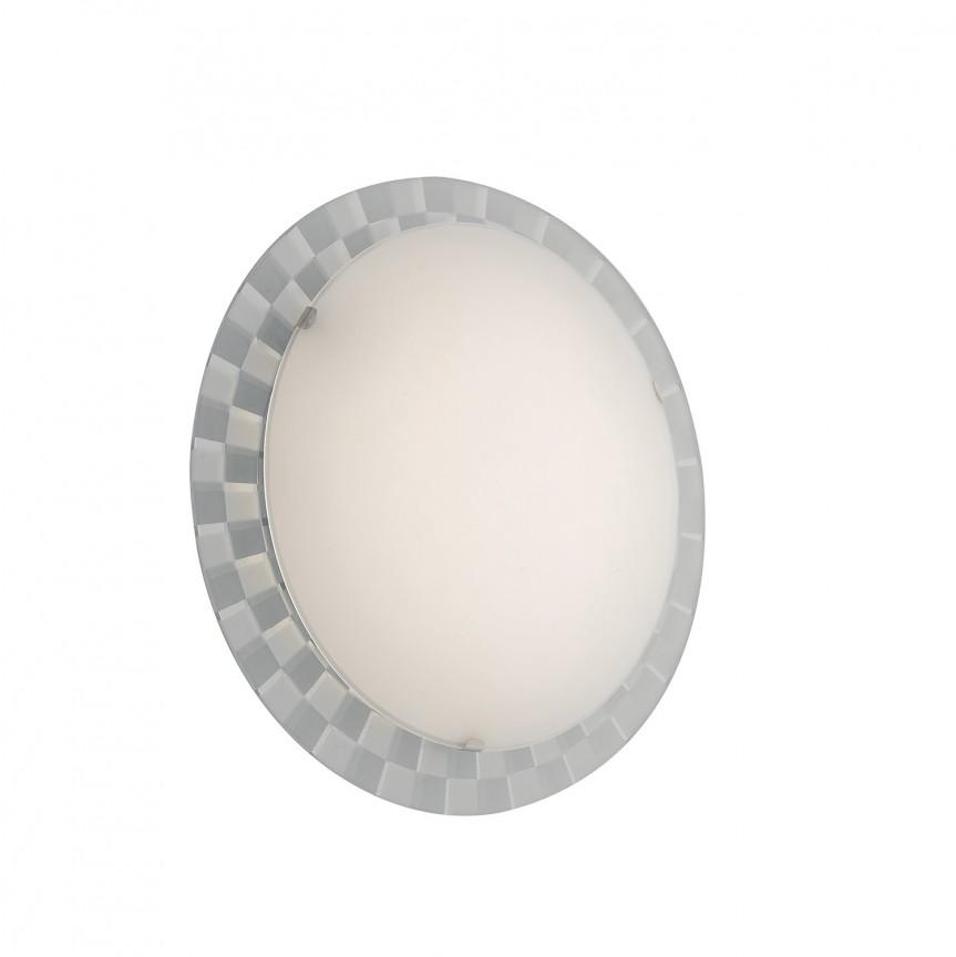 Plafoniera LED design modern Glamour Ø35cm, Plafoniere LED, Spoturi LED, Corpuri de iluminat, lustre, aplice, veioze, lampadare, plafoniere. Mobilier si decoratiuni, oglinzi, scaune, fotolii. Oferte speciale iluminat interior si exterior. Livram in toata tara.  a