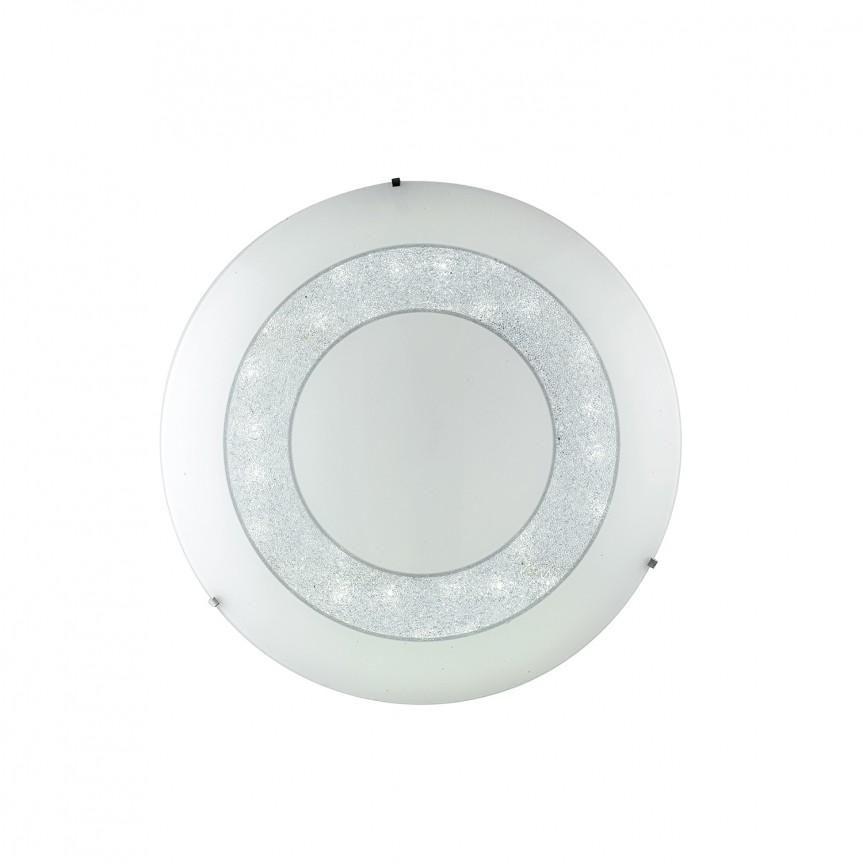 Plafoniera LED dimabila DIADEMA Ø35cm, Plafoniere LED, Spoturi LED, Corpuri de iluminat, lustre, aplice, veioze, lampadare, plafoniere. Mobilier si decoratiuni, oglinzi, scaune, fotolii. Oferte speciale iluminat interior si exterior. Livram in toata tara.  a