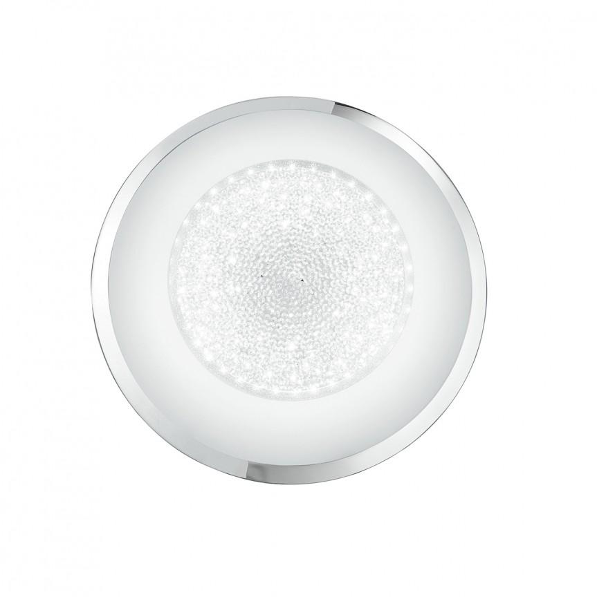 Plafoniera LED design elegant cu cristale K9 TIFFANY Ø40cm, Plafoniere LED, Spoturi LED, Corpuri de iluminat, lustre, aplice, veioze, lampadare, plafoniere. Mobilier si decoratiuni, oglinzi, scaune, fotolii. Oferte speciale iluminat interior si exterior. Livram in toata tara.  a