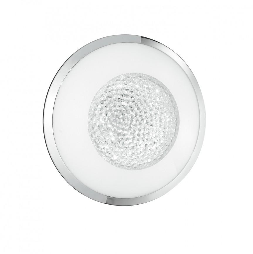 Aplica LED de perete / tavan cu cristale K9 TIFFANY Ø30cm, Aplice de perete LED, Corpuri de iluminat, lustre, aplice, veioze, lampadare, plafoniere. Mobilier si decoratiuni, oglinzi, scaune, fotolii. Oferte speciale iluminat interior si exterior. Livram in toata tara.  a