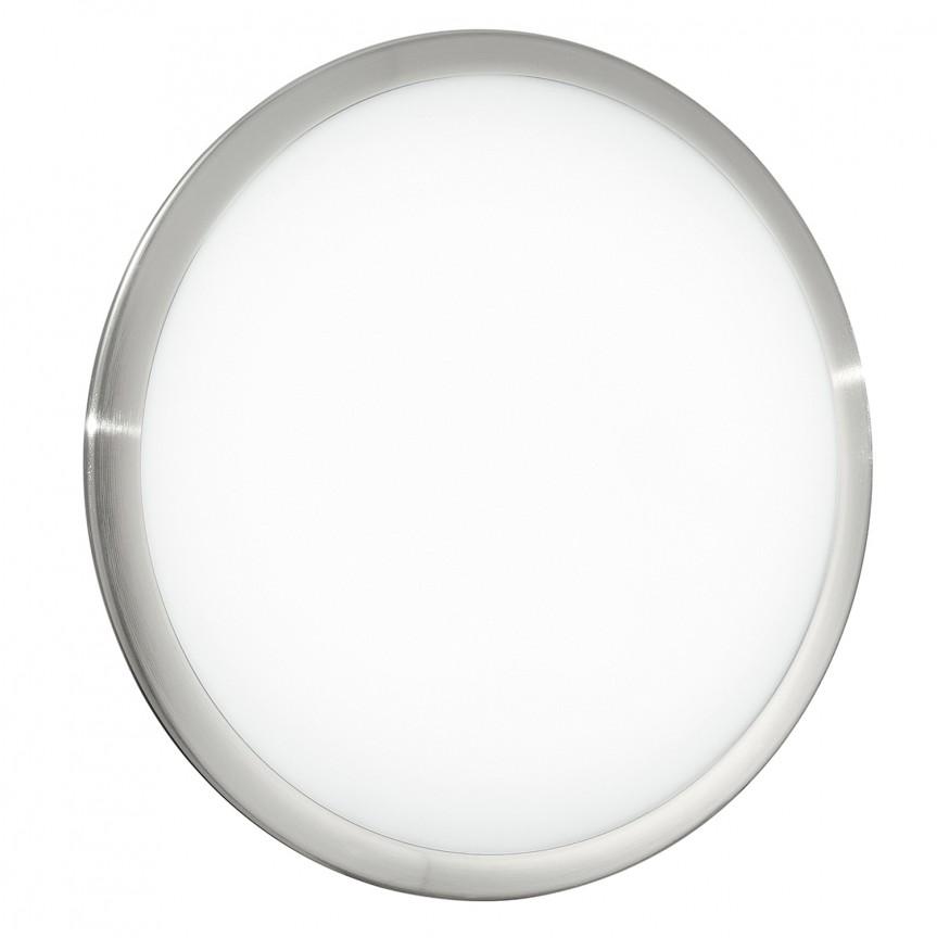 Plafoniera LED moderna DIVINA Ø40cm, Plafoniere LED, Spoturi LED, Corpuri de iluminat, lustre, aplice, veioze, lampadare, plafoniere. Mobilier si decoratiuni, oglinzi, scaune, fotolii. Oferte speciale iluminat interior si exterior. Livram in toata tara.  a