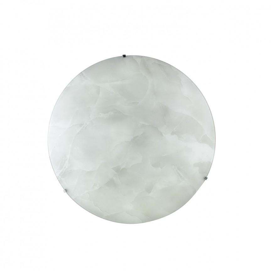 Plafoniera LED dimabila Ø35cm CANOVA alba, Plafoniere LED, Spoturi LED, Corpuri de iluminat, lustre, aplice, veioze, lampadare, plafoniere. Mobilier si decoratiuni, oglinzi, scaune, fotolii. Oferte speciale iluminat interior si exterior. Livram in toata tara.  a