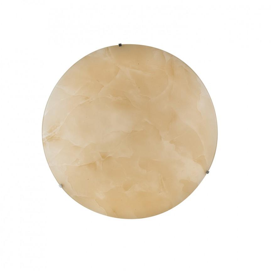 Plafoniera LED dimabila Ø35cm CANOVA ambra, Plafoniere LED, Spoturi LED, Corpuri de iluminat, lustre, aplice, veioze, lampadare, plafoniere. Mobilier si decoratiuni, oglinzi, scaune, fotolii. Oferte speciale iluminat interior si exterior. Livram in toata tara.  a