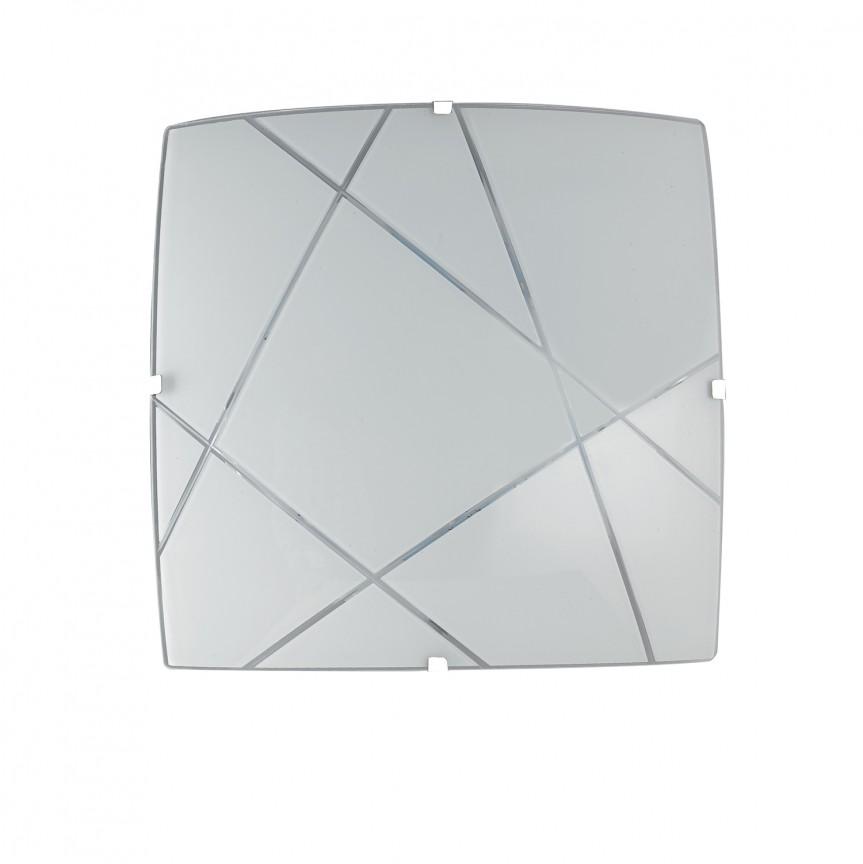 Plafoniera LED design modern sticla decorata ALEXIA PL30, Plafoniere LED, Spoturi LED, Corpuri de iluminat, lustre, aplice, veioze, lampadare, plafoniere. Mobilier si decoratiuni, oglinzi, scaune, fotolii. Oferte speciale iluminat interior si exterior. Livram in toata tara.  a