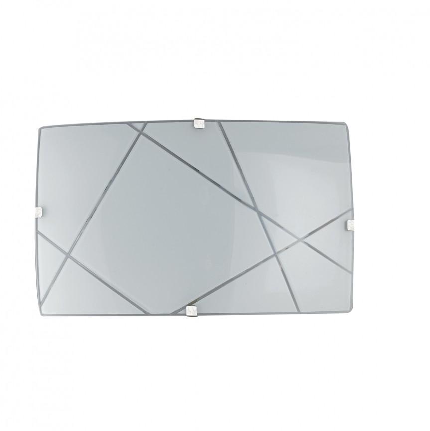 Aplica LED design modern sticla decorata ALEXIA, Aplice de perete LED, Corpuri de iluminat, lustre, aplice, veioze, lampadare, plafoniere. Mobilier si decoratiuni, oglinzi, scaune, fotolii. Oferte speciale iluminat interior si exterior. Livram in toata tara.  a