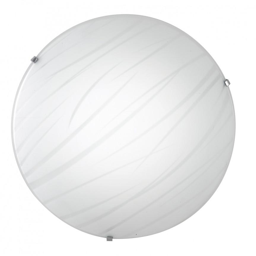 Plafoniera LED design modern sticla decorata Ø40cm GOGAIN, Plafoniere LED, Spoturi LED, Corpuri de iluminat, lustre, aplice, veioze, lampadare, plafoniere. Mobilier si decoratiuni, oglinzi, scaune, fotolii. Oferte speciale iluminat interior si exterior. Livram in toata tara.  a