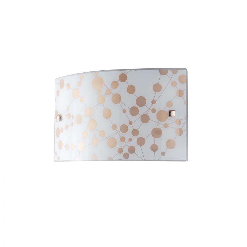 Aplica de perete LED design modern sticla decorata SUMMER, Aplice de perete LED, Corpuri de iluminat, lustre, aplice, veioze, lampadare, plafoniere. Mobilier si decoratiuni, oglinzi, scaune, fotolii. Oferte speciale iluminat interior si exterior. Livram in toata tara.  a