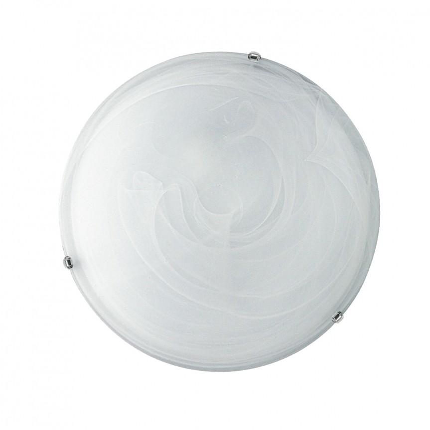 Plafoniera LED sticla LUNA Ø40cm, Plafoniere LED moderne⭐ ieftine si de lux pentru living, dormitor, bucatarie.✅DeSiGn LED dimabil cu telecomanda!❤️Promotii lampi tavan cu LED❗ ➽ www.evalight.ro. Alege oferte la corpuri de iluminat cu LED pt interior de tip lustre aplicate sau incastrate tavan fals si perete (becuri cu leduri si module LED integrate cu lumina calda, naturala sau rece), ieftine de calitate deosebita la cel mai bun pret.  a