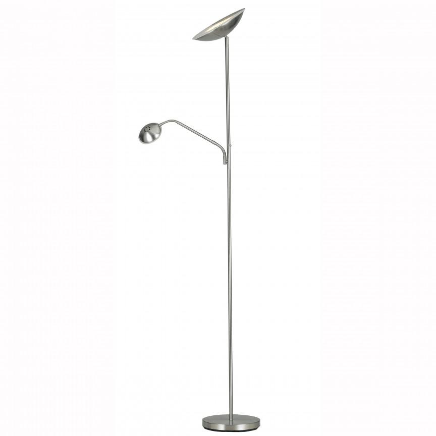 Lampadar cu reader LED dimabil I-DEMETRA/PT FE, Veioze LED, Lampadare LED, Corpuri de iluminat, lustre, aplice, veioze, lampadare, plafoniere. Mobilier si decoratiuni, oglinzi, scaune, fotolii. Oferte speciale iluminat interior si exterior. Livram in toata tara.  a