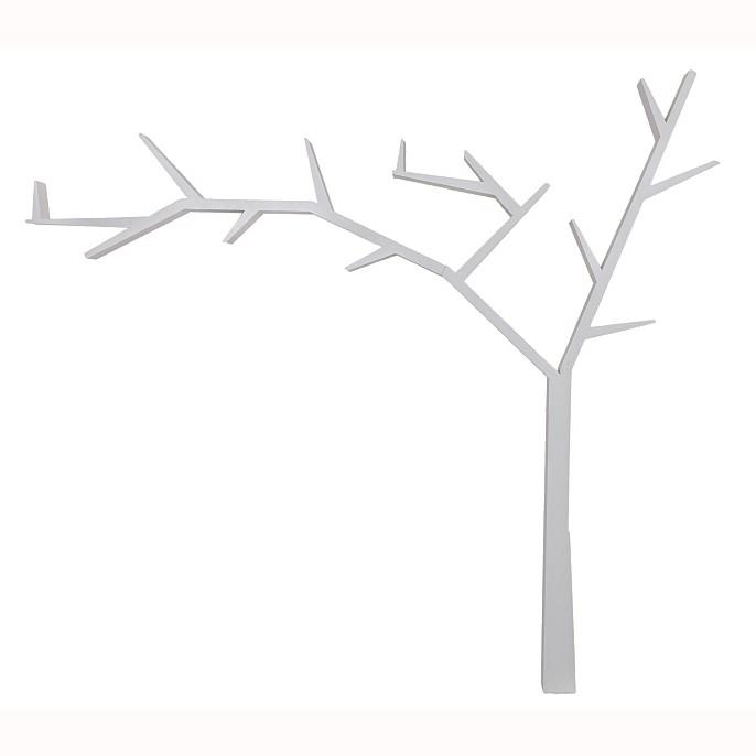 Raft decorativ in forma de copac, din lemn design clasic POPRAD stanga, Vitrine - Rafturi, Corpuri de iluminat, lustre, aplice, veioze, lampadare, plafoniere. Mobilier si decoratiuni, oglinzi, scaune, fotolii. Oferte speciale iluminat interior si exterior. Livram in toata tara.  a