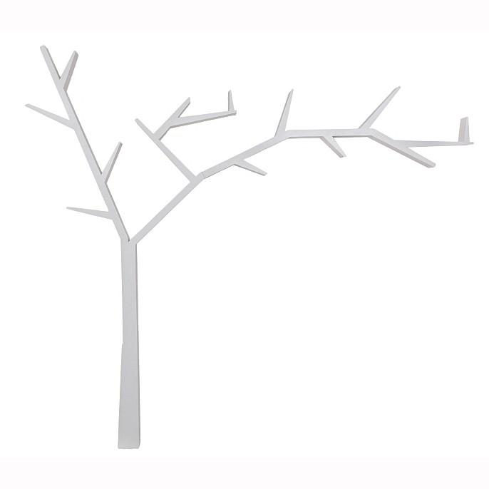 Raft decorativ in forma de copac, din lemn design clasic POPRAD dreapta, Vitrine - Rafturi, Corpuri de iluminat, lustre, aplice, veioze, lampadare, plafoniere. Mobilier si decoratiuni, oglinzi, scaune, fotolii. Oferte speciale iluminat interior si exterior. Livram in toata tara.  a