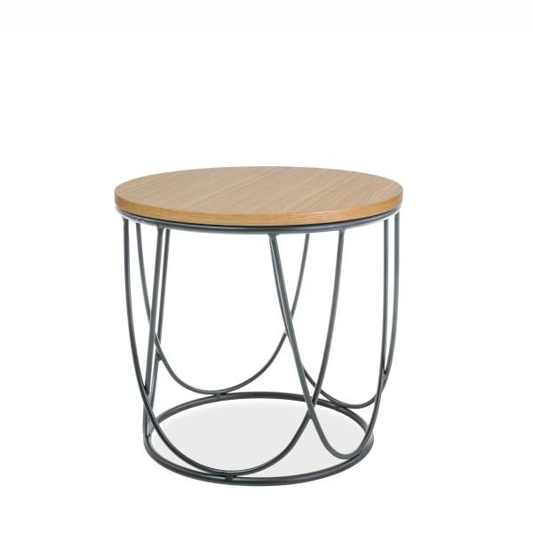Masuta design minimalist SEPIA II stejar, 42cm SEPIAIIDC SM, Masute de cafea, Corpuri de iluminat, lustre, aplice, veioze, lampadare, plafoniere. Mobilier si decoratiuni, oglinzi, scaune, fotolii. Oferte speciale iluminat interior si exterior. Livram in toata tara.  a