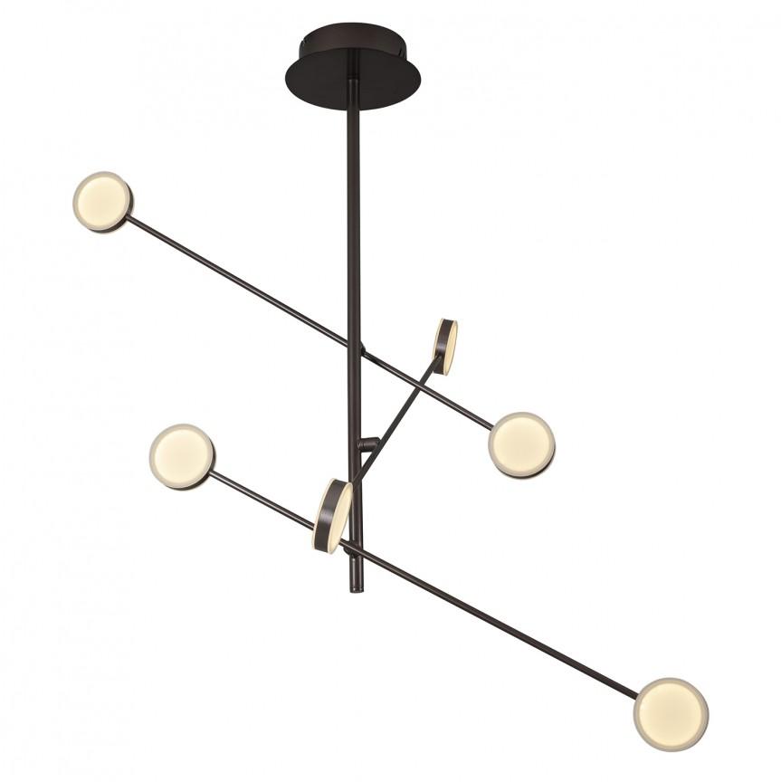 Lustra LED reglabila design modern LIBERO P0329 MX, Lustre LED, Pendule LED, Corpuri de iluminat, lustre, aplice, veioze, lampadare, plafoniere. Mobilier si decoratiuni, oglinzi, scaune, fotolii. Oferte speciale iluminat interior si exterior. Livram in toata tara.  a