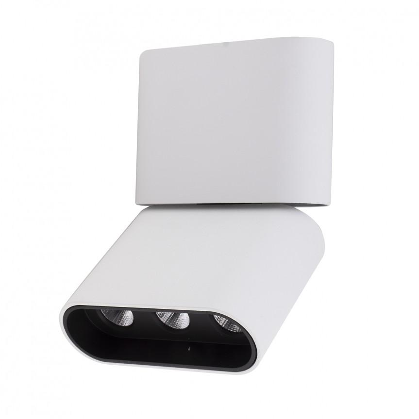 Plafoniera LED moderna design minimalist MARVEL alba C0149 MX, Spoturi aplicate - tavan / perete, Corpuri de iluminat, lustre, aplice, veioze, lampadare, plafoniere. Mobilier si decoratiuni, oglinzi, scaune, fotolii. Oferte speciale iluminat interior si exterior. Livram in toata tara.  a